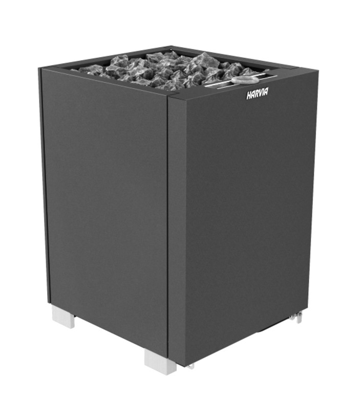 Печь для сауны Harvia Modulo Combi MD180SA Black, без пульта